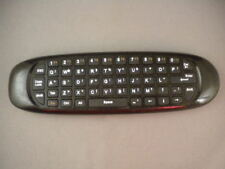 BEEMAX C120 Pro 2.4g Mini Voice Wireless Keyboard Mouse TV Remote Control Black