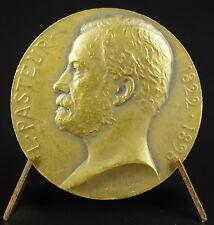Médaille Louis pasteur Commission sanitaire Charente inférieure 1900 medal