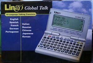 LINGO Global Talk GT-1 10 language Talking Translator NEW  FACTOR SEALED