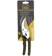 Joseph Bentley Gold Cut 0.573 lb. Bypass Secateurs Garden Pruning Pruner Tool
