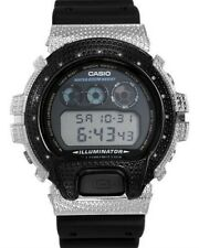 Casio Genuine Diamond G-Shock Chronograph Watch Digital W/ Interchangeable Bezel