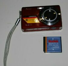 Kodak EASYSHARE M320 9.2MP Digital Camera Red SPARES REPAIR KLIC-7001 Battery