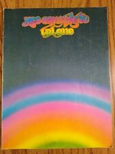 Yes Complete Vol. One Songbook Guitar Piano 1976