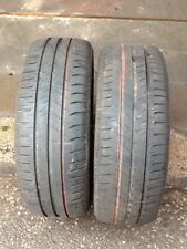 2x 195 55 16 MICHELIN ENERGY SAVER TYRE TESTED 5-6mm FREE POSTAGE OR FITTING