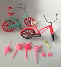 Barbie Bicycle Spin Ride Pups Great Adventure Bike Helmet Replacement Lot