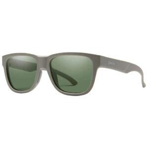 Smith Lowdown Slim 2 Sunglasses-Matte Sage w/ Polarized Grey Green