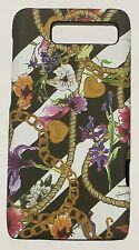 Juicy Couture Hard Shell Case Droid Razr M by Motorola colorful floral design