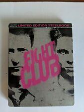 Fight Club (Blu-ray Disc, 2016, SteelBook) *No Digital*