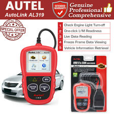 Autel Autolink AL319 CAN OBD2 Code Reader Scanner Diagnostic Tool Check Engine