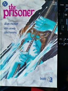 The Prisoner Book A DC Comics Patrick McGoohan signed by creators