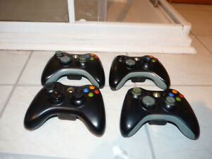 4x Official Microsoft Xbox360 Wireless Control Pads - Spares/Repair