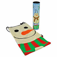 Christmas Apron Snowman Xmas Home Kitchen Funky Pinny Novelty GIFT BOXED In Tube