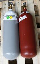 gefüllte Eigentumsflaschen Sauerstoff 5 Liter 200 bar / Acetylen 5 Liter