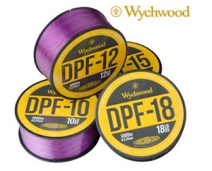Wychwood DPF Carp Fishing Line 1000m Deep Purple Fluorocarbon Coated Mono