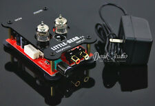 Latest 6J1 HiFi Stereo Tube Pre-AMP Valve Audio Preamplifier with Power Adapter