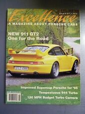 """1995 Porsche Excellence Magazine #55 August 1995 """"New 911 GT2, One for the Road"""""""