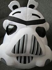 "Oficial Angry Birds Star Wars Grande 12"" Suave Juguete Peluche Cojín Clone Trooper"