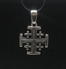Silber Anhänger  925 Jerusalem kreuz PE000588 EMPRESS