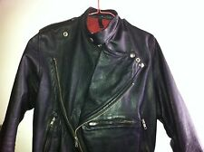 Genuine Size 32 Vintage Leather Motorcycle Jacket by Simpson's Gloves Melbourne