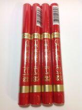 4 X L'OREAL LA LAQUE Colour Riche #414 I LACQUE YOU A LOT Lipcolour LIPSTICK NEW