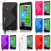 Housse etui coque pochette silicone gel pour Nokia Lumia 625