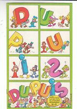 Catalogue de bandes dessinées DUPUIS 1978-1979