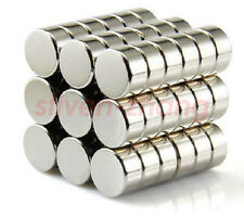 100pcs Neo Neodymium Disc 10mmx5mm Rare Earth N35 Strong Magnets Craft Models