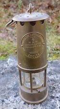Alte Grubenlampe --Protector Lamp Type 6-- Britsche Kohlemine gut erhalten