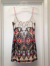 ALLSAINTS Aztec Sequin Mini Dress Sz 6 XS S Never Worn EUC
