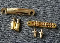 Gold Color Guitar Bridge Pickup For LP Style 6 Strings Electric Guitar Parts
