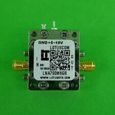 Broadband Ultra Low Noise Amplifier with LDO 0.4dB NF 0.7~6GHz 20dB Gain SMA