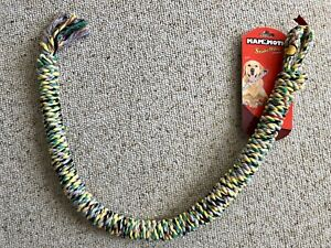 HUGE! Dog Rope Toy Chew Mammoth SnakeBiter Large 42in. Size Fun Durable Safe