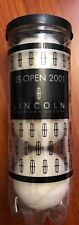 US Open 2001 Commemorative Lincoln White Tennis Balls Special Edition