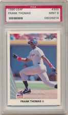 FRANK THOMAS 1990 LEAF #300 RC ROOKIE CARD CHICAGO WHITE SOX PSA 9 MINT