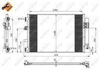 NRF Air Conditioning Condenser 350210 - BRAND NEW - GENUINE - 5 YEAR WARRANTY