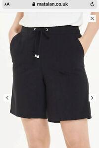 Women  Shorts Ladies Casual Fashion Cuffed Poplin Shorts Size 16 New Matalan New