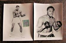 Muhammad Ali vs Joe Frazier II-Jan 28, 1974 1 x Ticket 2 x photos USA