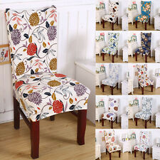 Color Choice Stretch Short Luxury Dining Chair Cover Machine Washable