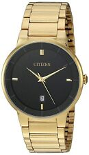 Citizen Watch Men Gold Tone Quartz Stainless Steel Comes with Box 🔥 40mm