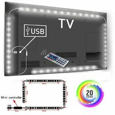 RGB Led Strip Can Change Color For TV Background Lighting With USB IR Controller