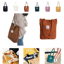 Damen Umhängetasche Schultertasche Handtasche Tragetasche Shopper Tasche Cord