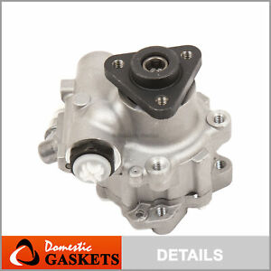 Power Steering Pump Fit 00-05 Audi A6 3.0L Allroad 2.7L Volkswagen Passat 4.0L