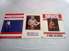 More details for bruce springsteen 4 vintage calendars * 2 x 1986, 87 & 88 *