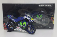 MINICHAMPS VALENTINO ROSSI 1/12 YAMAHA M1 TEAM MOVISTAR WINNER GP CATALUNYA 2016