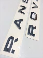 Range Rover Badge Lettering Boot Bonnet chrome letters Sport Vogue P38 Evoque