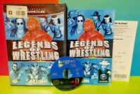 Legends of Wrestling WWE WWF  - Nintendo GameCube Game NGC Tested Rare Complete