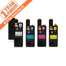4 Pk E525W Color Set Toner Cartridge for Dell E525W E525 525 Printer