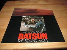 1970 Datsun Nissan  1/2 Ton Pickup Truck Brochure advertisement