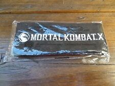 $$$$ MORTAL KOMBAT X PROMO FIGHT HEAD BAND WARNER BROS $$$$ NEW IN PACKET $$$$