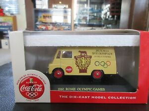 1:55 Coca Cola Delivery Truck 1960 Rome Italy Olympics Coke Lledo